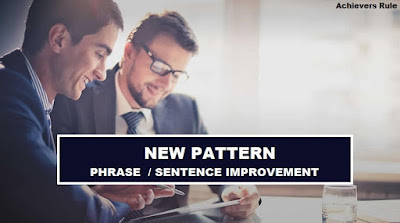 New Pattern Phrase Improvement for IBPS PO