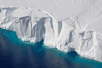 The Getz Ice Shelf in West Antarctica.