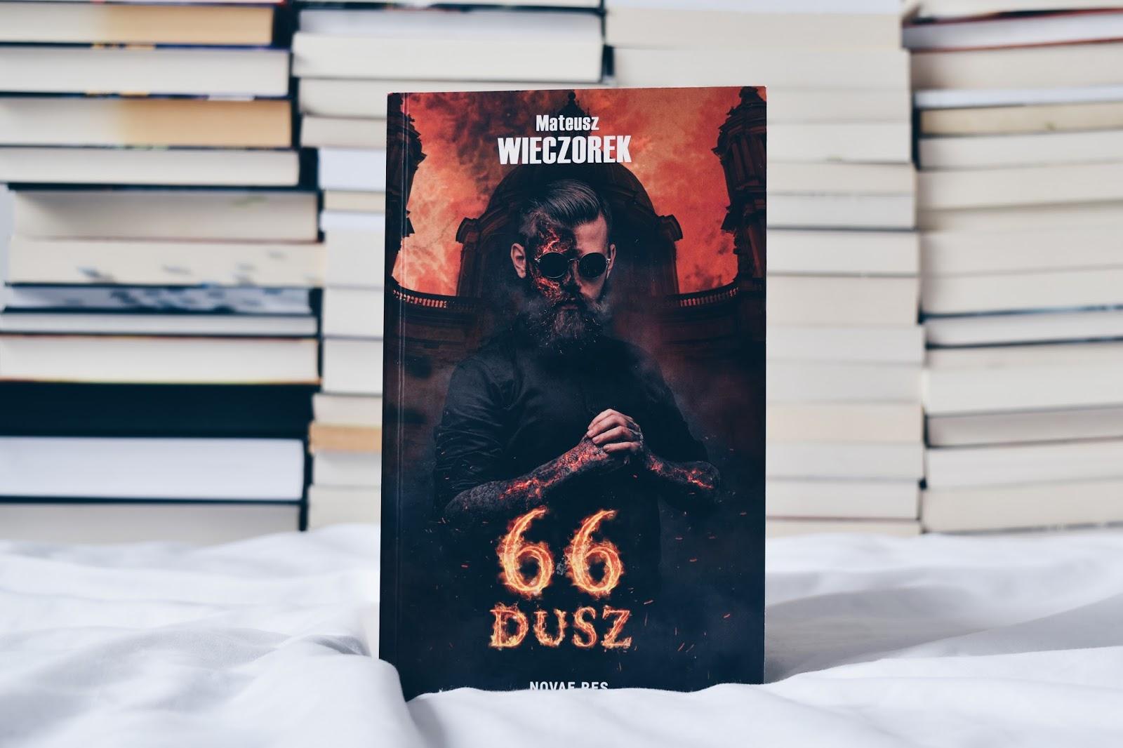 66 dusz, Mateusz Wieczorek, polskie książki, czytam bo polskie, bookstagram, co czytać, fajna książka, człowiek który chciał oszukać diabła, Twardowski