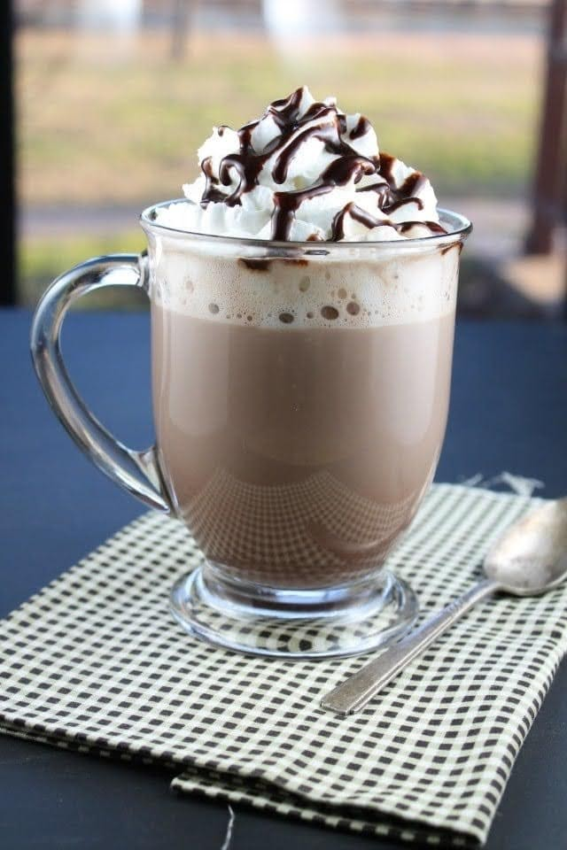 Rich and Creamy Hot Chocolate | Photo Courtesy of Miss in the Kitchen