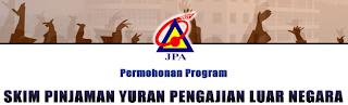 Skim Pinjaman Yuran Pengajian Luar Negara Sesi 1/2013 Untuk Peringkat Ijazah Pertama
