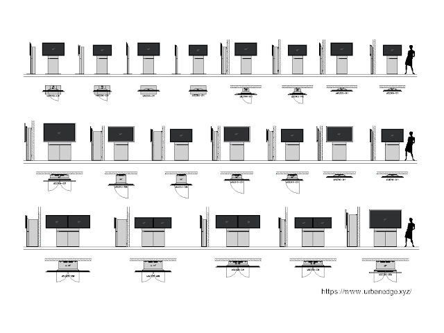 TV Unit cad block, 50+ TV Wall furniture cad blocks download