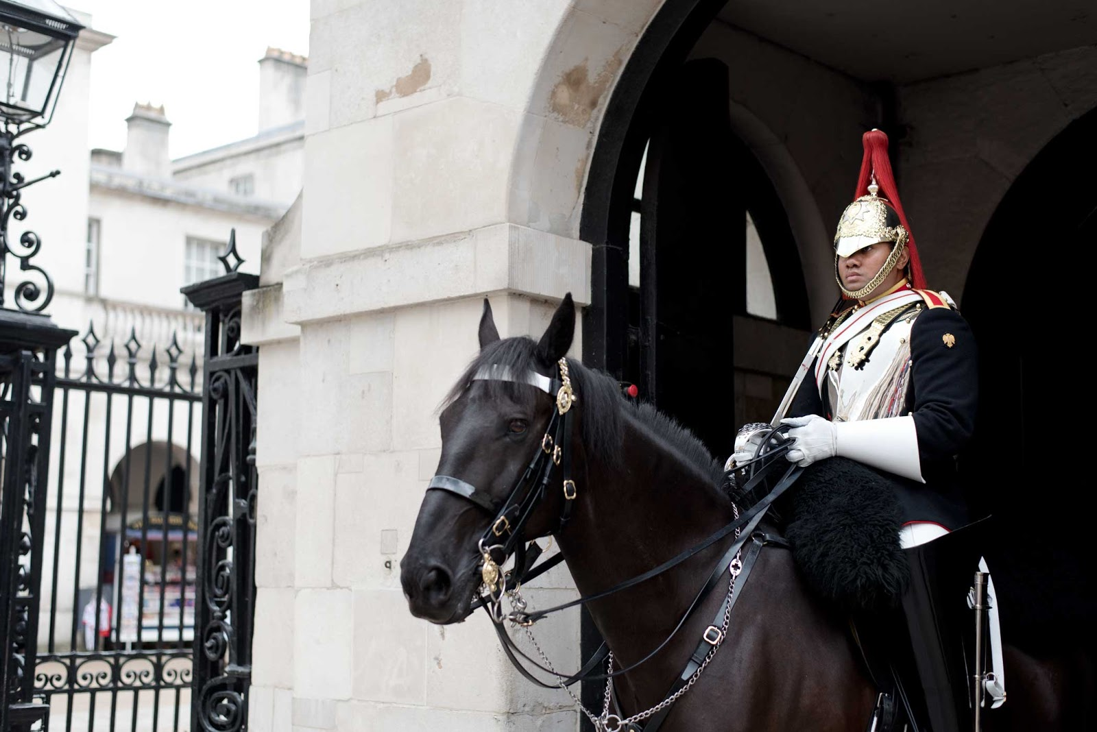 London, queen's guard, buckingham palace, horseguard
