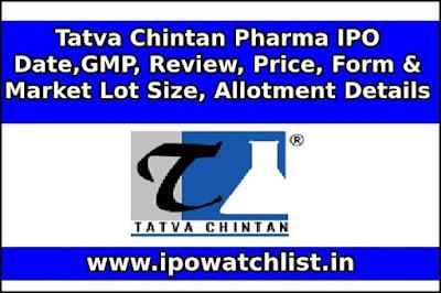 Tatva Chintan Pharma IPO