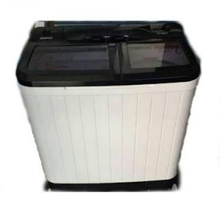 Mesin Cuci Denpoo 2 Tabung 8 KG DW 8907 4P