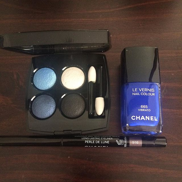 make up chanel blue rhythm