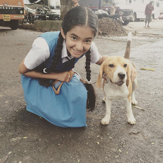 Anushka Sen Doggy Photto