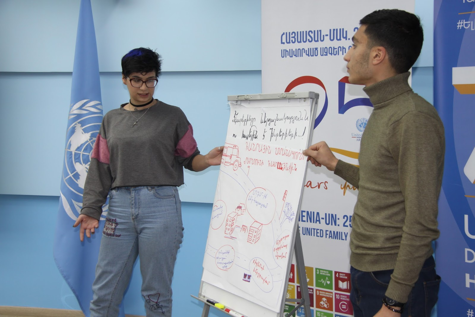 Martuni Youth Address Human Rights at the Community Level