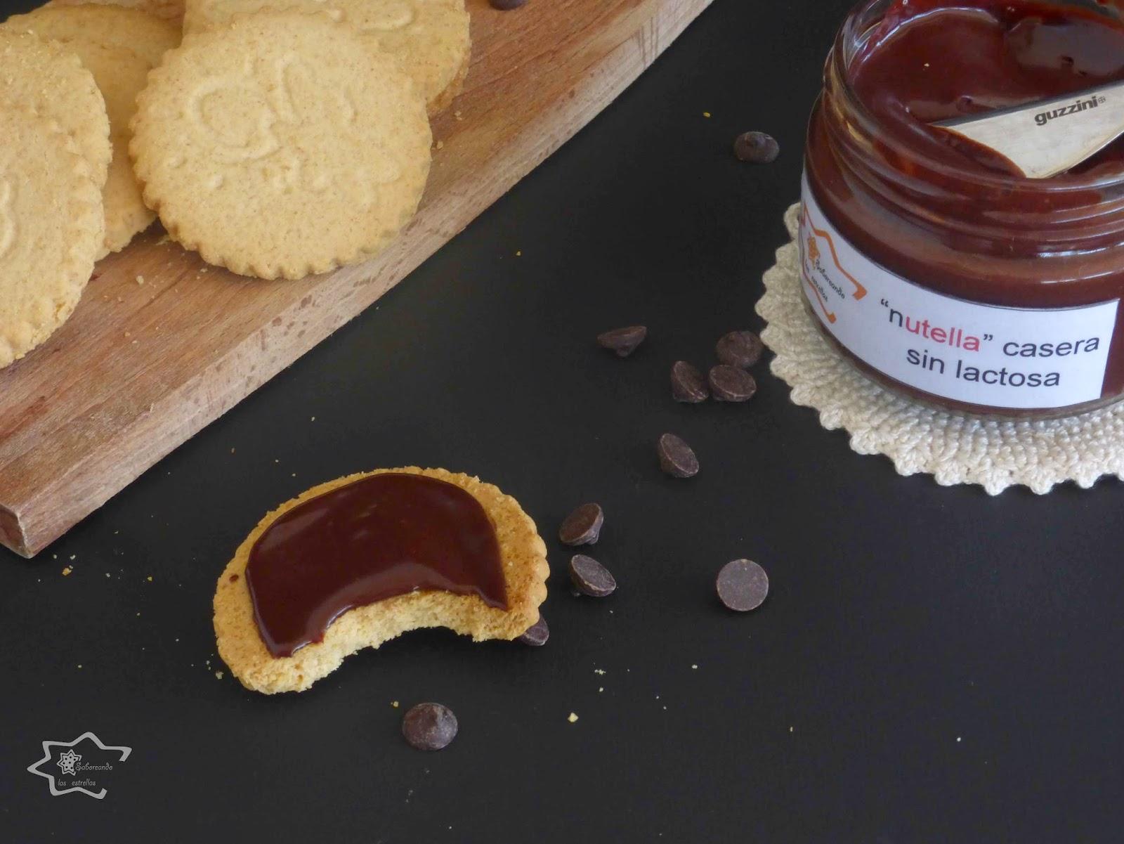 Nutella casera sin lactosa -Saboreando las estrellas-