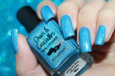 "Swatch of the nail polish ""City in The Clouds"" from Chaos & Crocodiles"
