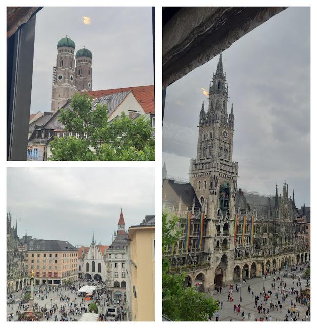 Vistas panorâmicas de Munique - vários lugares para subir e ver a cidade do alto! Galeria Kaufhof