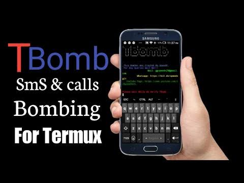 TBomb Using TERMUX In Android With Tutorial Vedio