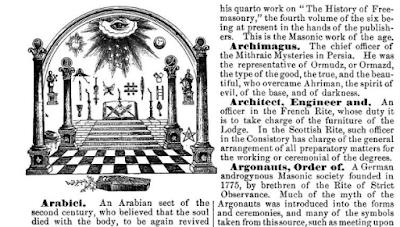 An encyclopaedia of freemasonry