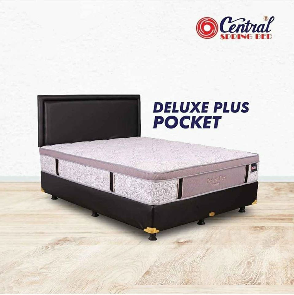 Spring Bed Central Di Purwokerto Deluxe Pocket Plush Top Garansi 15 Tahun