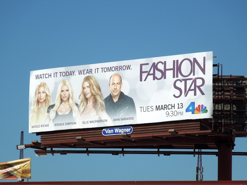 Fashion Star season 1 billboard