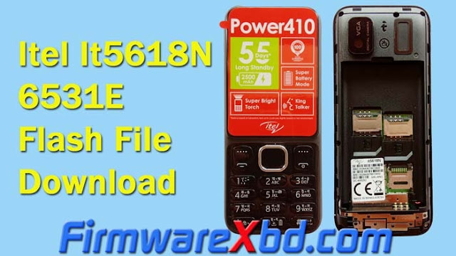 itel It5618N Power 410 6531E Flash File Download Free (Firmware) Without Password