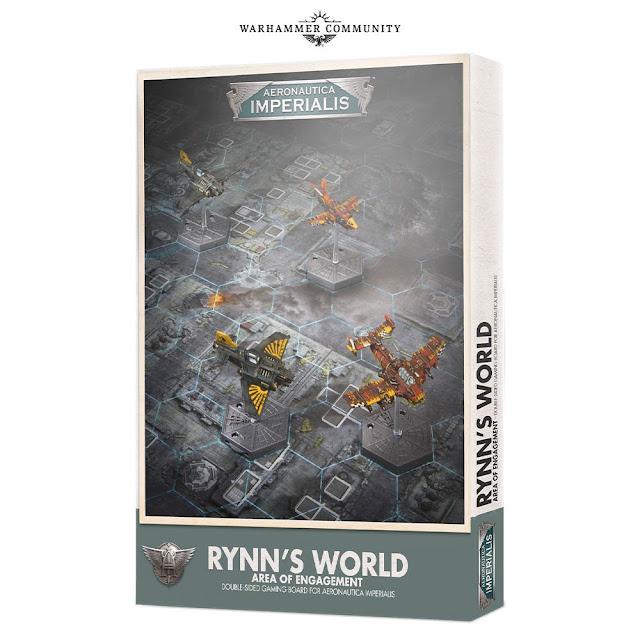 Tablero Mundo de Rynn Aeronautica Imperialis