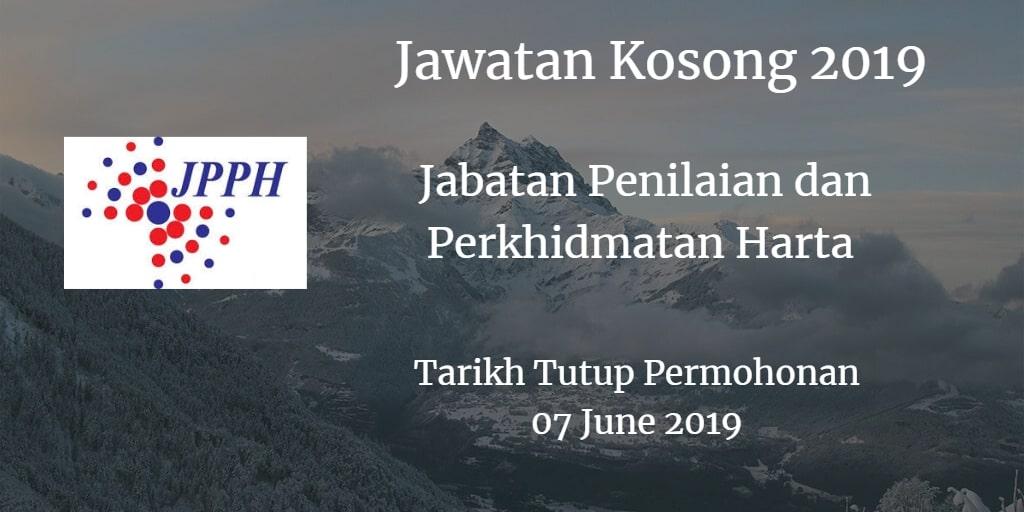 Jawatan Kosong JPPH 07 June 2019
