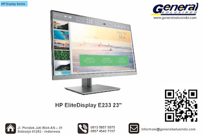 HP EliteDisplay E233 23