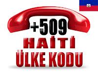 +509 Haiti ülke telefon kodu