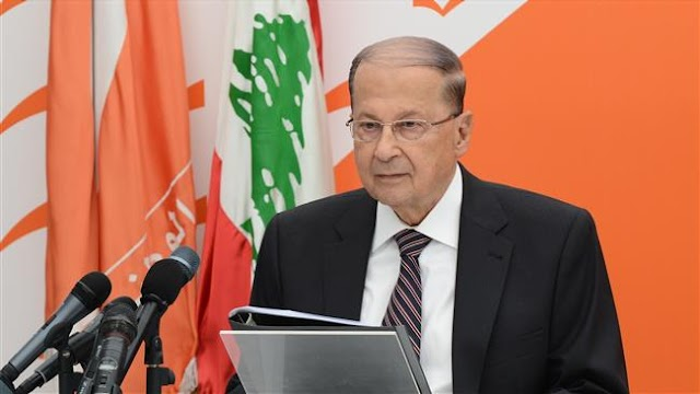 Lebanese President Michel Aoun calls for national unity after Saad Hariri resignation