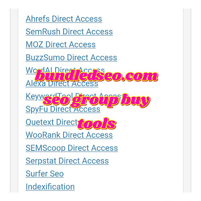 bundledseo seo group buy tools