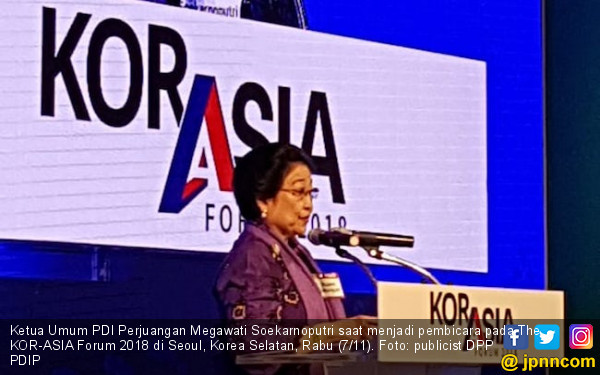 Megawati Ajak Bangsa Asia Damaikan Semenanjung Korea