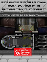 Sc-Fi Boarding Craft