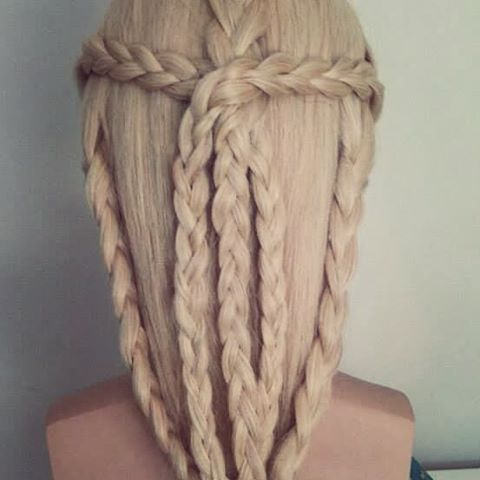 Beautiful Celtic Braids The Haircut Web