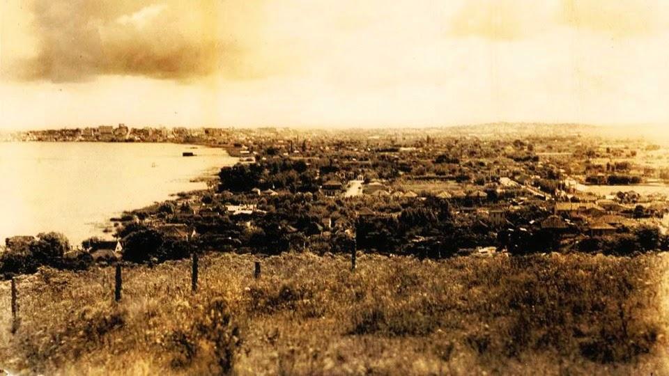 Porto Alegre: Menino Deus, do Alto do Morro Santa Tereza, 1910