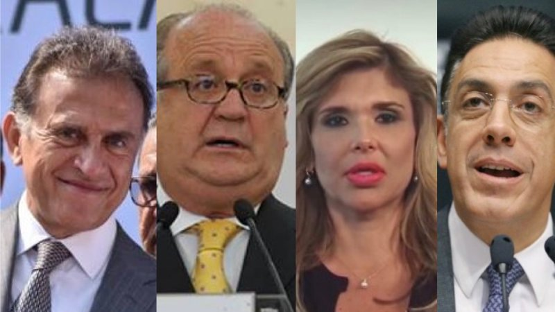 "Estos son los gobernadores que quieren ""comprar"" a diputados de Morena para seguir robando."
