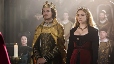 King Henry VII and Queen Elizabeth from The White Princess