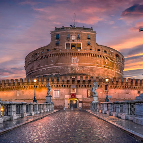 El Castillo Sant'Angelo de Roma Italia 🥇