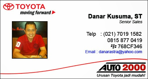 Dealer Toyota Rekomendasi Sales Toyota Tangerang