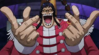ワンピースアニメ   スクラッチメン・アプー SCRATCHMEN APOO   ONE PIECE   Hello Anime !