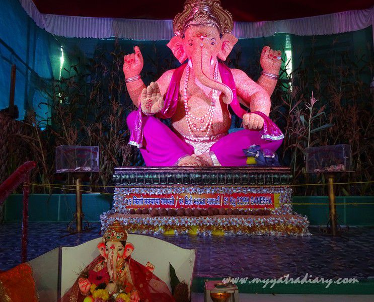 Subhash Lane Ganesh Sai Seva Mandal - Eco Friendly Creative Ganesh Theme, Mumbai