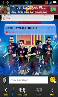 BBM MOD Barcelona V2.0.0.13 Apk