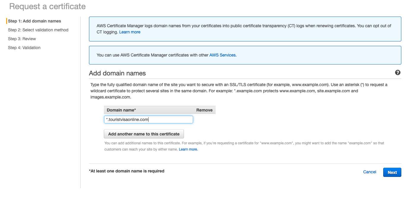 how to install ssl certificate on tomcat at aws ec2 instance