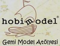Logo dello shop di modellismo navale turco hobimodel, Gemi Model Atolyesi