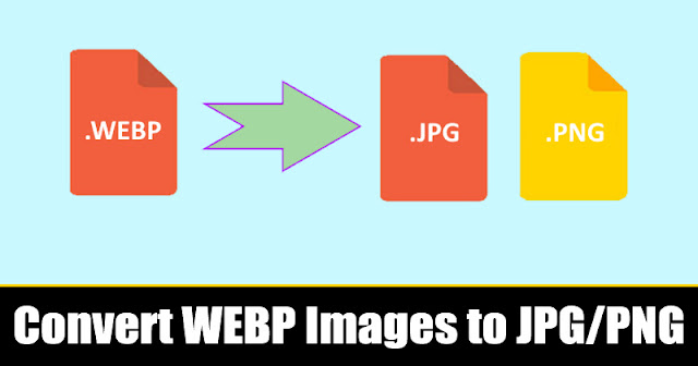 Cara Mengonversi Gambar WEBP Google ke JPG atau PNG [ WEBP to JPG or PNG ]