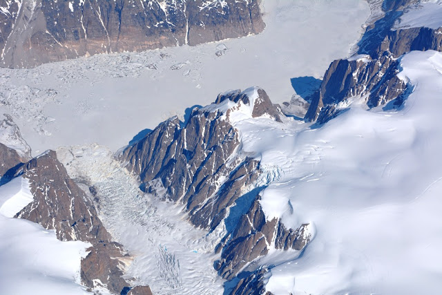 Ice Mountains Greenland