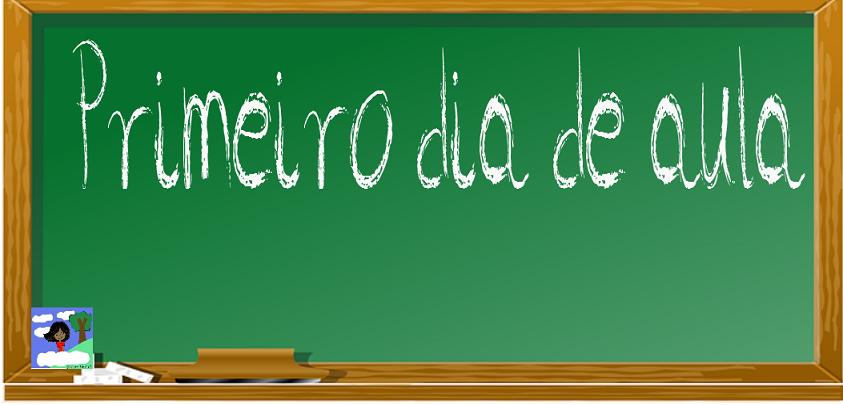 Plano De Aula 1º Dia De Aula Só Escola