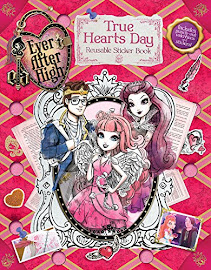 EAH True Hearts Day Reusable Sticker Book Media
