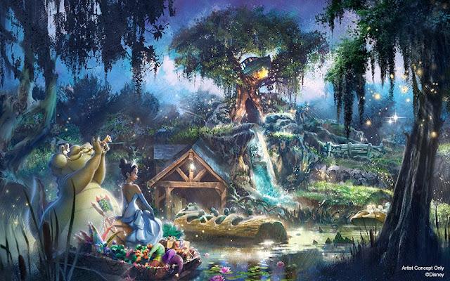 Disney, Disney Parks, WDI, 飛濺山, 重新演繹, 公主與青蛙, Splash Mountain, re-themed, The Princess and the Frog, Disneyland, Magic Kingdom