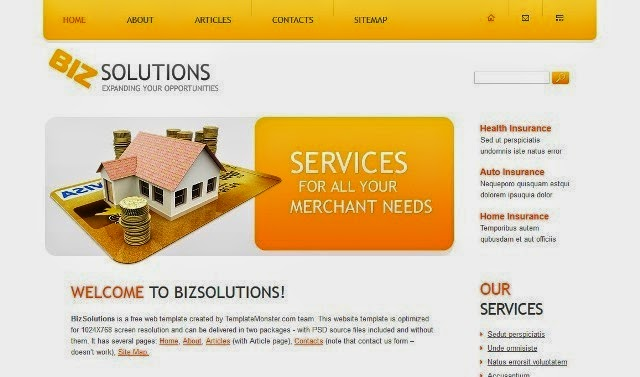 zBizSolutions - Free Html5 Theme for Business