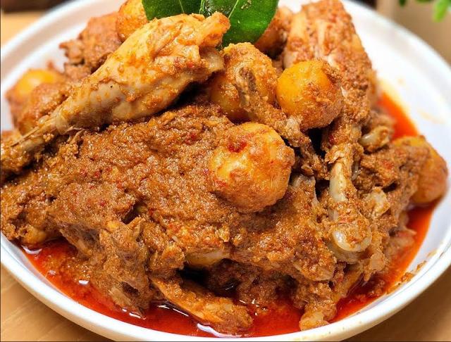 Resep Rendang Ayam Asli Padang