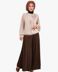 Model Baju Muslim Wanita Lebaran Terbaru