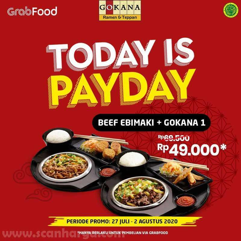 Promo Gokana Payday Periode 27 Juli - 2 Agustus 2020 3