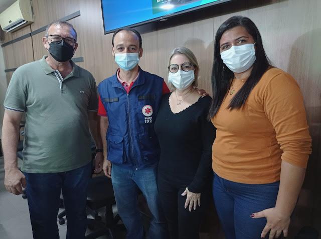 Diretora do Hospital de Caraúbas participa de audiência sobre implantação do SAMU no Médio Oeste