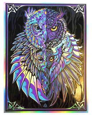 """Guardian"" Screen Print by Todd Slater x BIOWORKZ"